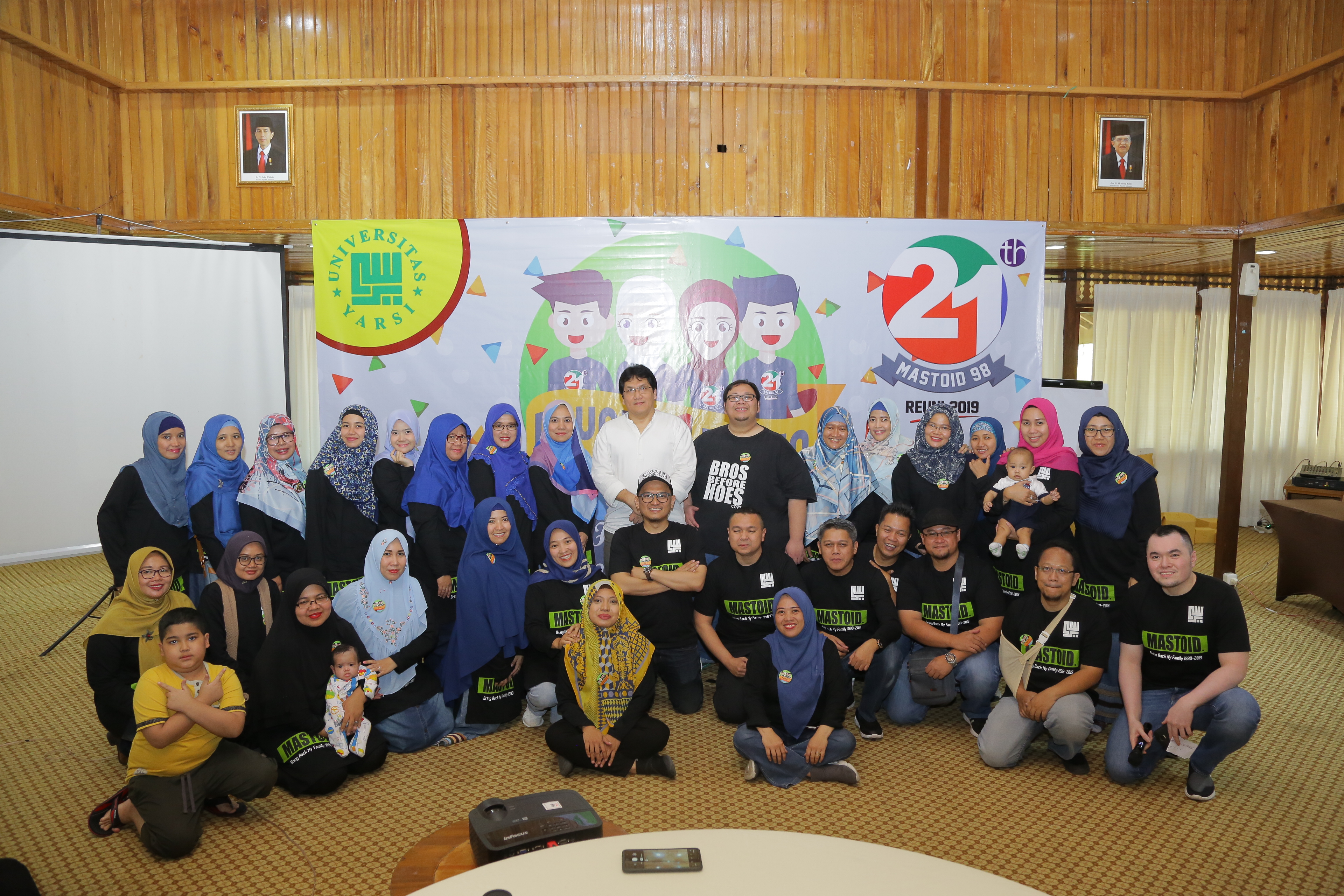 Reuni 21 tahun FK Yarsi Angkatan 98